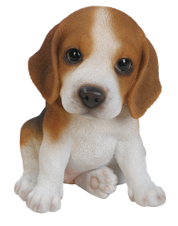 Image of Pet Pals Beagle Puppy - Resin Garden Ornament