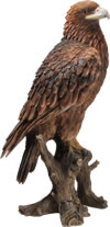 Image of Golden Eagle - Resin Garden Ornament