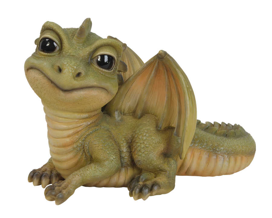 Pet Pal Baby Green Dragon Resin Garden Ornament 163 12 99