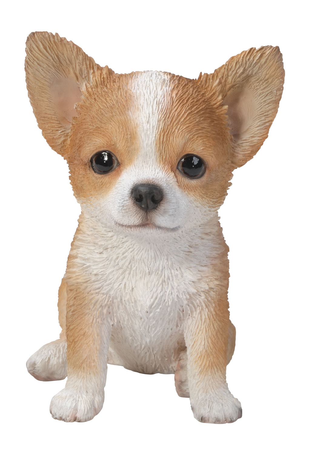 Vivid Pet Pals Brown Amp White Chihuahua Lifelike Resin