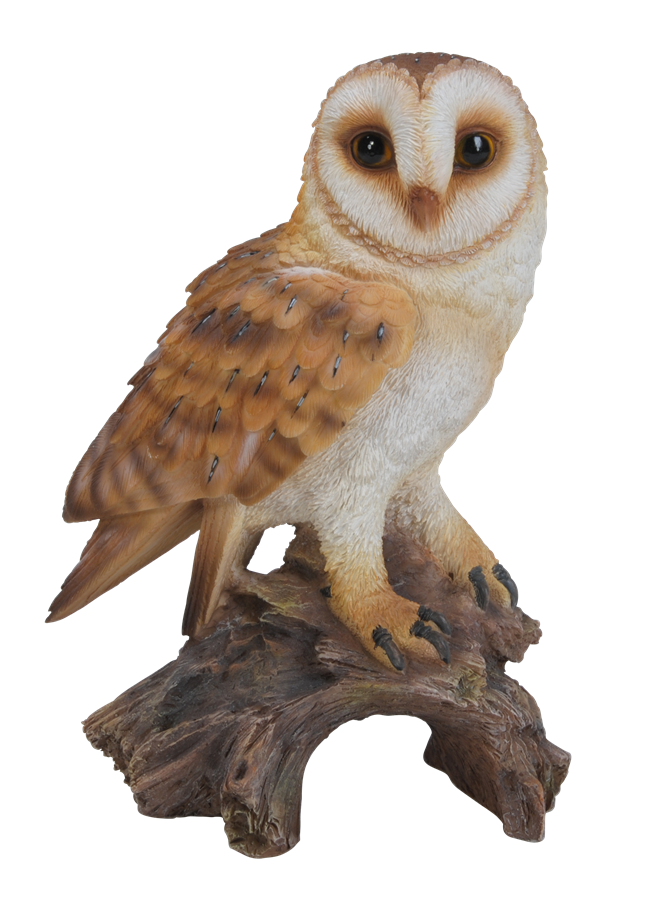 Little Barn Owl Resin Garden Ornament 163 9 99