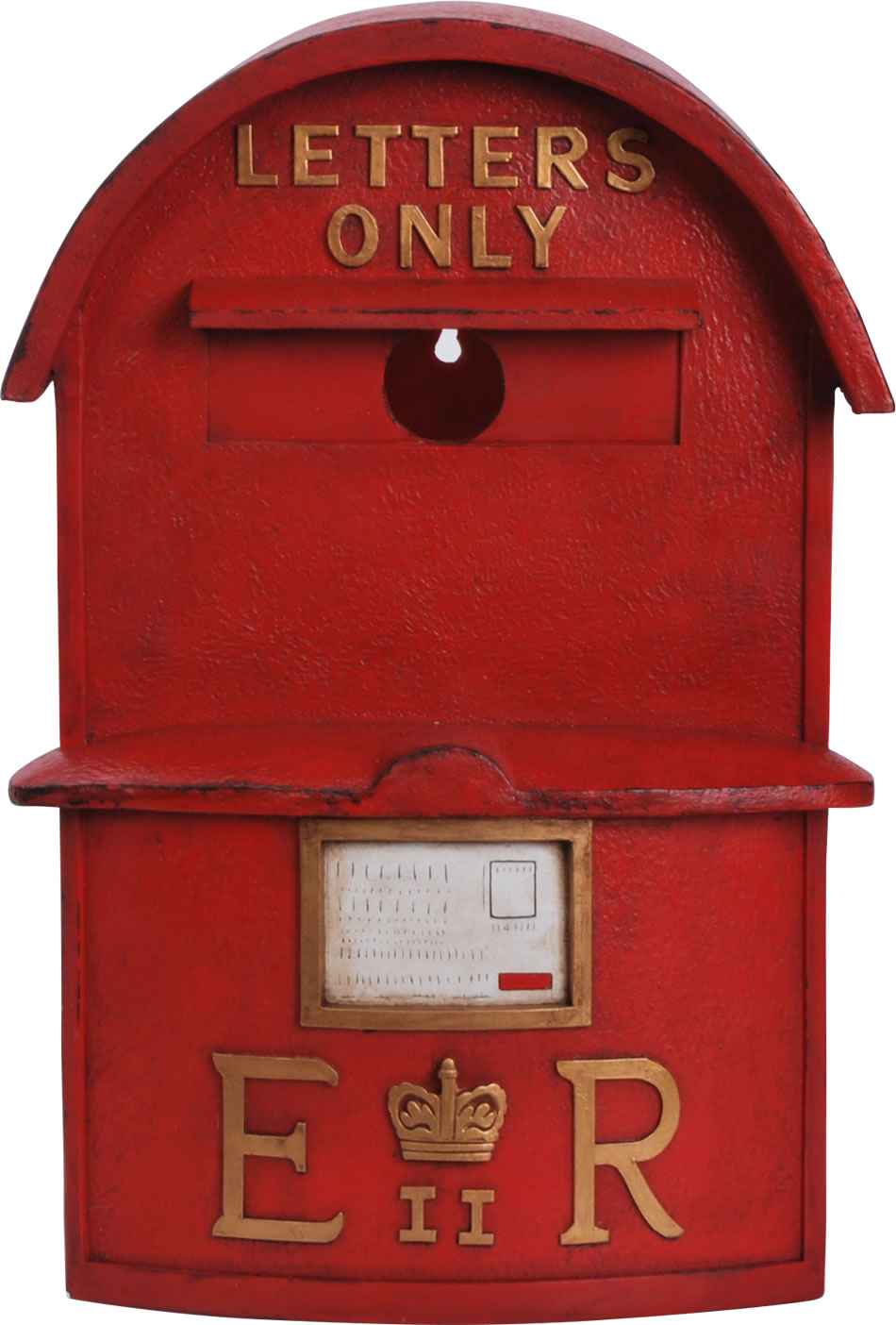 Large Post Box Birdhouse Resin Bird Box 163 34 99