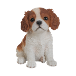 Small Image of Pet Pals King Charles Puppy - Resin Garden Ornament