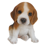 Small Image of Pet Pals Beagle Puppy - Resin Garden Ornament