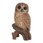 Small Image of Little Tawny Owl - Resin Garden Ornament