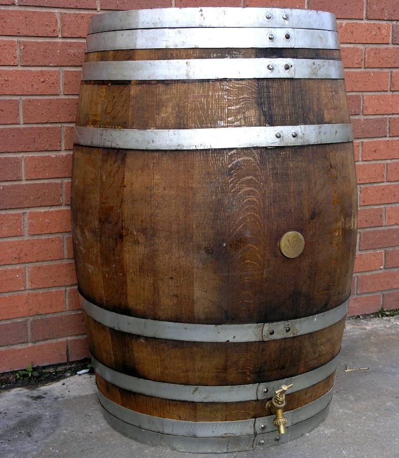 oak barrel wooden water butt 225ltr. Black Bedroom Furniture Sets. Home Design Ideas