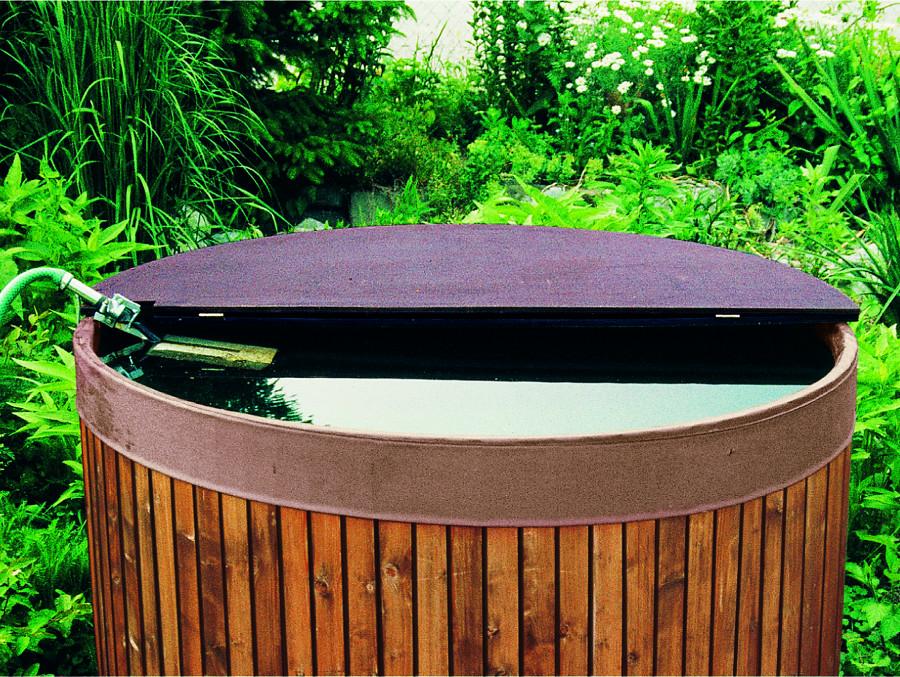 Rainwater tank cover 200ltr garden4less uk shop for Portable watering tanks for gardens