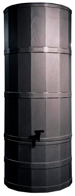 Image of Oak Poly Water Butt - 220 Ltr