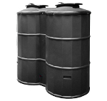 Small Image of 1500 Litre Rainwater Harvester - Prestige 1500 Black