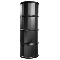 Small Image of Black Poly Water Butt - 110ltr