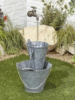 Image of Floating Tap Easy Fountain Garden Water Feature