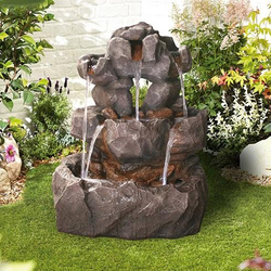 Small Image of Rock Springs Easy Fountain Garden Water Feature