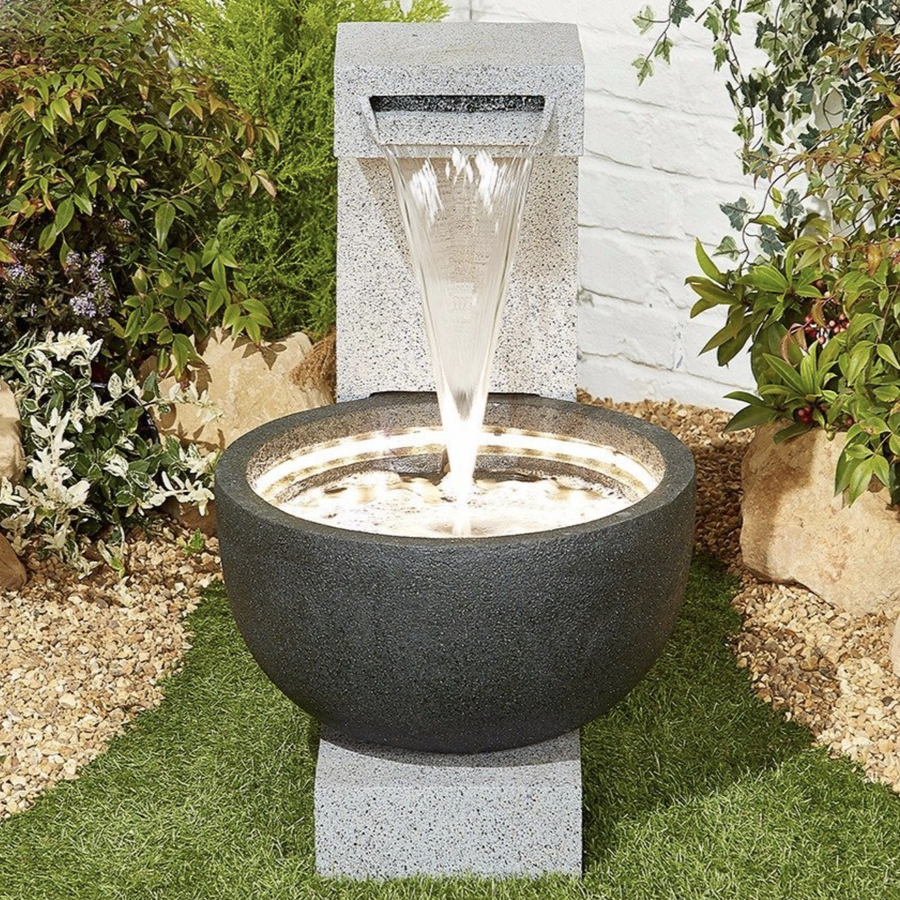 Solitary Pour Easy Fountain Garden Water Feature - £284.99 ...