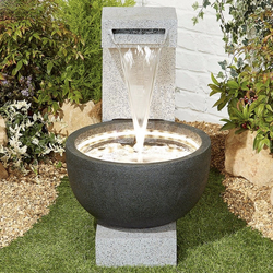 Small Image of Solitary Pour Easy Fountain Garden Water Feature