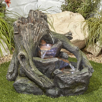 Image of Woodland Twist Easy Fountain Garden Water Feature