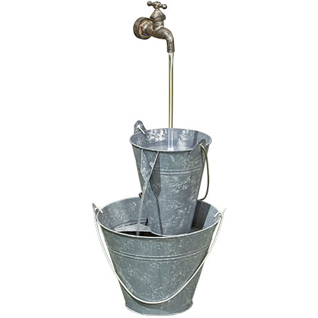 Extra image of Floating Tap Easy Fountain Garden Water Feature