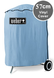 Image of Weber Vinyl 57cm Kettle Barbeque Cover