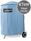 Small Image of Weber Vinyl 47cm Kettle Barbeque Cover