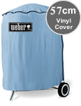 Weber Vinyl 57cm Kettle Barbeque Cover