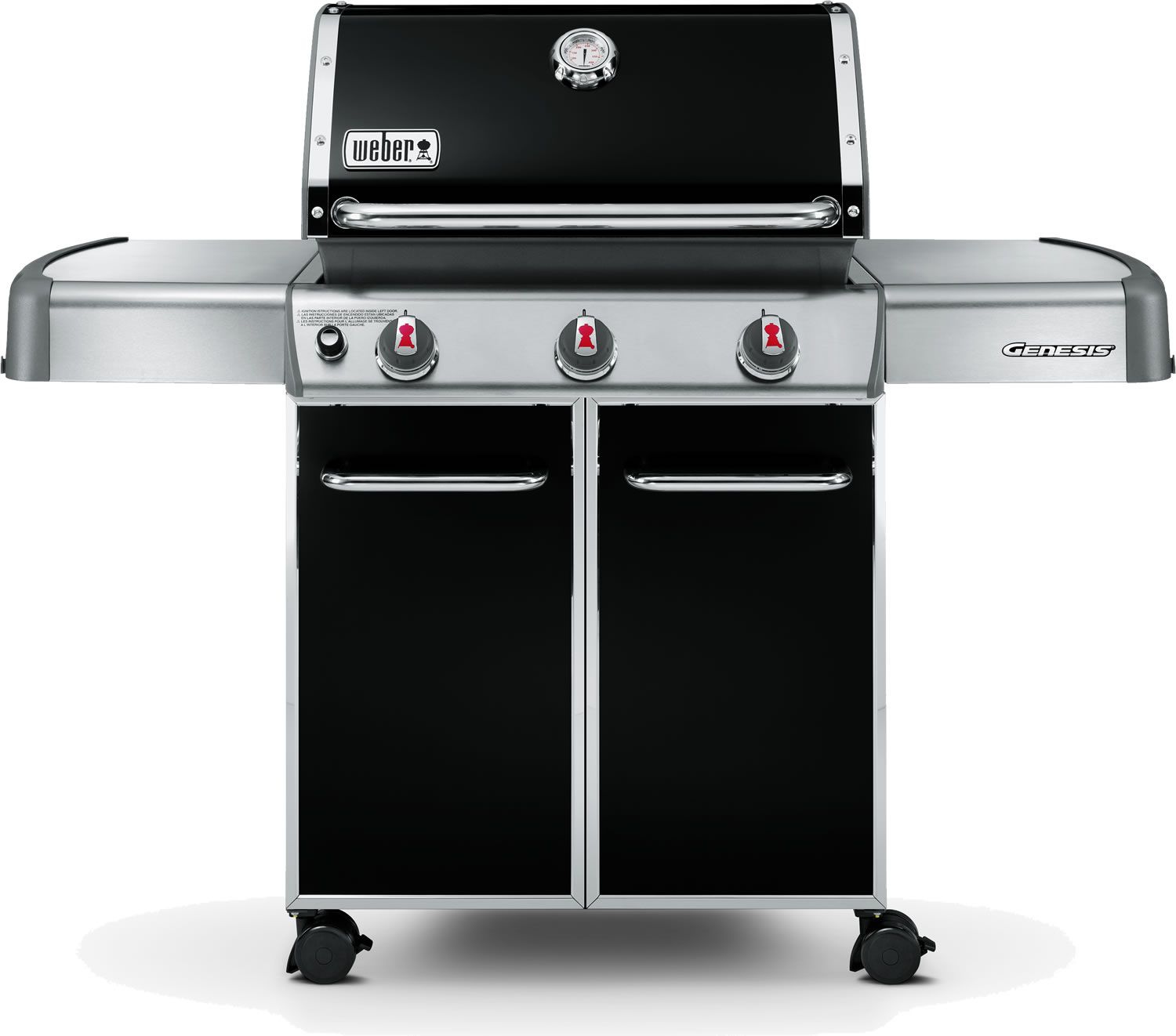 weber genesis e310 bbq in black 830 garden4less uk shop. Black Bedroom Furniture Sets. Home Design Ideas