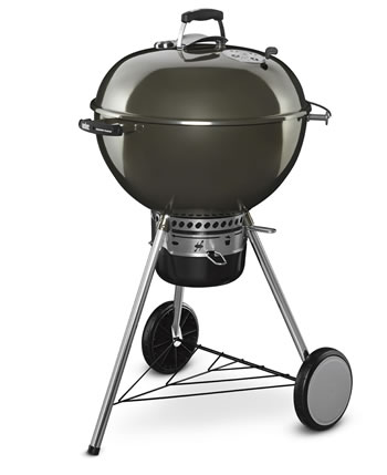 Image of Weber MasterTouch 57cm Barbecue - Smoke