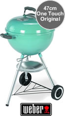 Weber One-Touch Original BBQ 47cm - Blue Wave