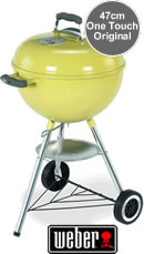Weber One-Touch Original BBQ 47cm - Lemongrass