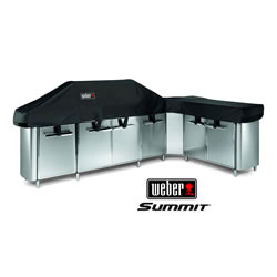 Small Image of Weber Summit Grill Centre with Social Area Premium Cover