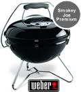 Weber Smokey Joe Premium Portable BBQ in Black