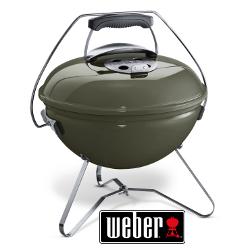 weber smokey joe premium portable bbq in smoke at garden4less uk. Black Bedroom Furniture Sets. Home Design Ideas