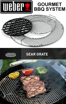 weber gourmet bbq system sear grate set garden4less uk shop. Black Bedroom Furniture Sets. Home Design Ideas