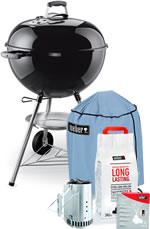 Weber One-Touch Original 57cm Promotional Pack - Black