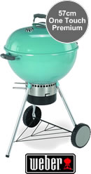 Weber One Touch Premium BBQ 57cm Blue Wave