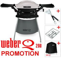 weber q200 bbq promotion 163 295 76 at garden4less uk