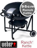 Weber Ranch Kettle BBQ 98cm - 60020