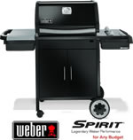 Weber Spirit E210 (Classic) Gas BBQ with Free Cover