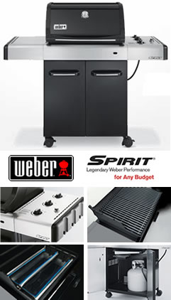 weber spirit e310 premium gas bbq at garden4less uk. Black Bedroom Furniture Sets. Home Design Ideas