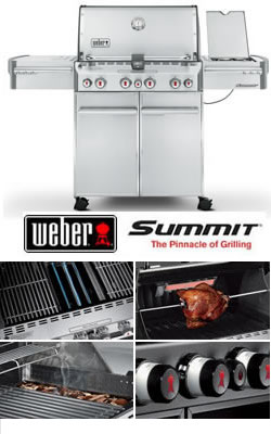weber summit s470 stainless steel gas bbq 2 garden4less uk. Black Bedroom Furniture Sets. Home Design Ideas