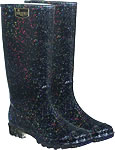 Briers Black Stardust Wellies