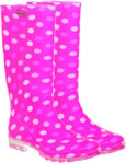 Briers Dotty Pink Wellies