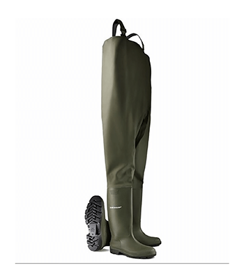 Image of Dunlop Protomaster Chest Waders in Green