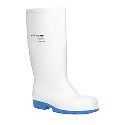 Small Image of Dunlop Acifort Classic Plus Wellingtons in White