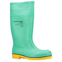 Small Image of Dunlop Acifort HazGuard Wellington Boots in Green