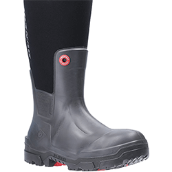 Small Image of Dunlop Snugboot Pioneer Wellington Boot in Black