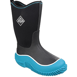 Small Image of Muck Boot Kids Hale Wellies in Blue/Black