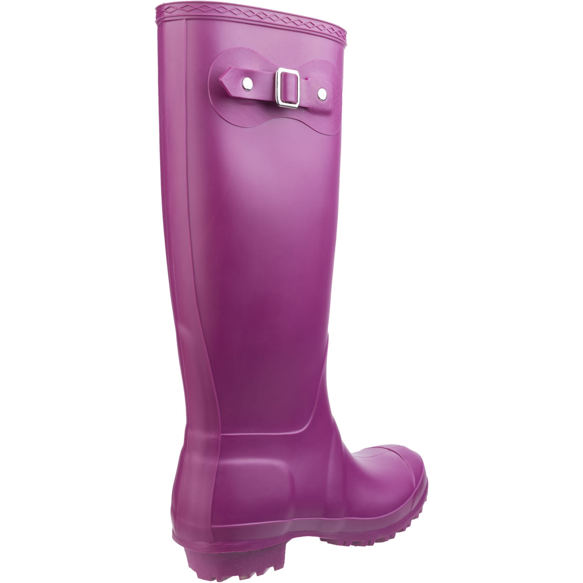 Extra image of Womens Cotswold Sandringham Wellington Boots - Berry