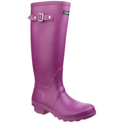 Small Image of Womens Cotswold Sandringham Wellington Boots - Berry