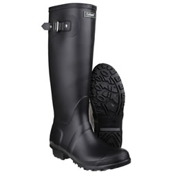 Small Image of Womens Cotswold Sandringham Wellington Boots - Black - UK Size 6