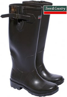 Image of Chocolate Town & Country Premium Wellies