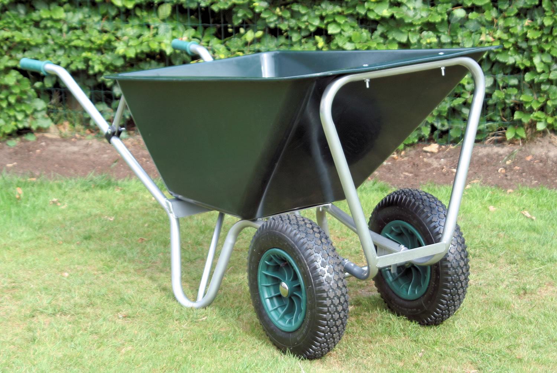 Garden wheelbarrow mammouth 160 to 230ltr for Garden tools for 4 wheeler
